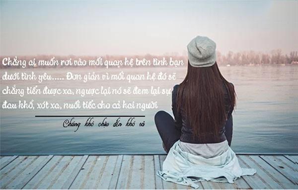 Không cố duy trì tình bạn với người yêu cũ