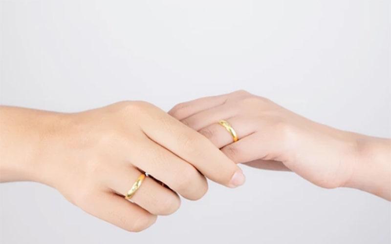 Nhẫn cưới có ý nghĩa quan trọng đối với các cặp đôi