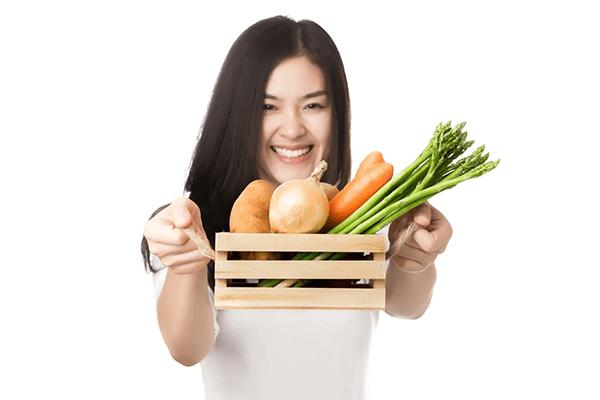 Ăn uống lành mạnh và đủ chất tạo điều kiện cho cơ thể phát triển tốt nhất
