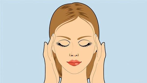 Bài tập massage 2 bên thái dương