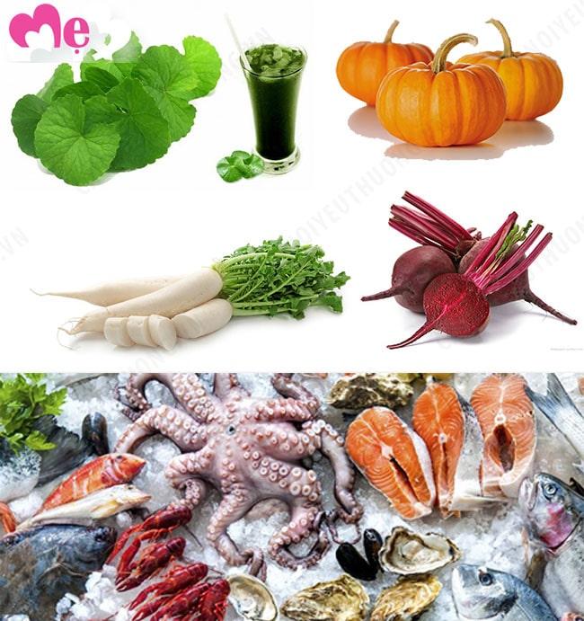 Những thực phẩm mà người bị bạch cầu cao nên ăn