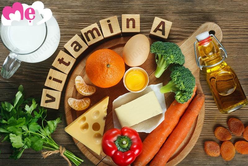 Những thực phẩm có nhiều Vitamin A