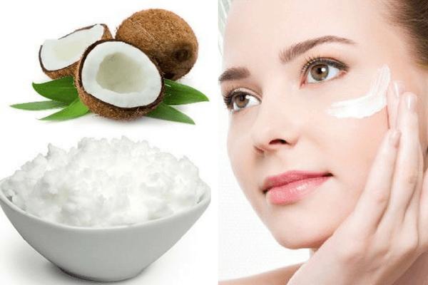 Dùng dầu dừa chăm sóc da