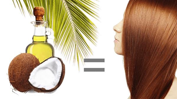 Dùng dầu dừa chăm sóc tóc