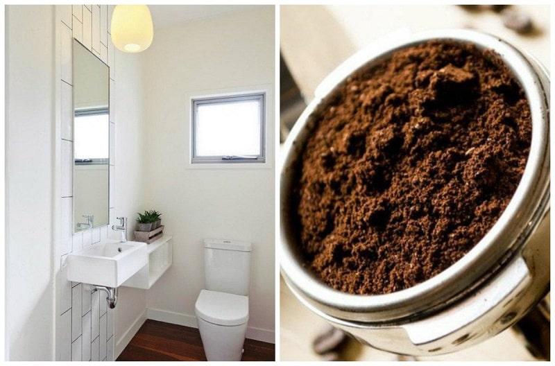 Bạn sẽ bất ngờ trước khả năng khử mùi của bã cà phê
