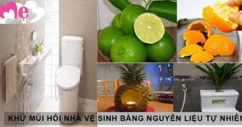 6 cách khử mùi hôi nhà vệ sinh bằng nguyên liệu tự nhiên 1