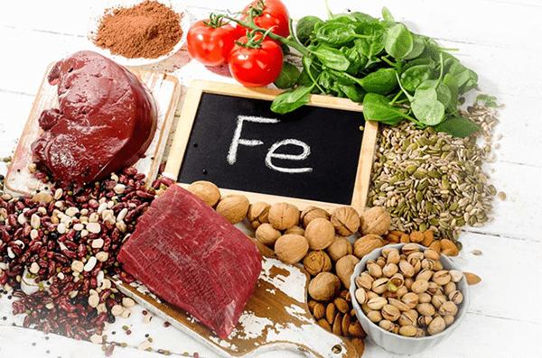 Những loại thực phẩm giàu chất sắt