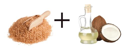 Trị nám bằng dầu dừa và đường nâu