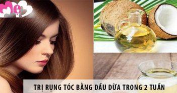 Cách trị rụng tóc bằng dầu dừa chỉ trong 2 tuần