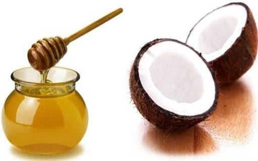 Mặt nạ từ dầu dừa và mật ong