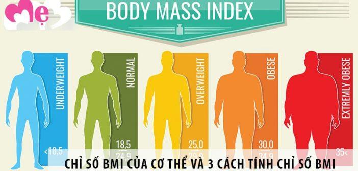 Chỉ số BMI của cơ thể và 3 cách tính chỉ số BMI