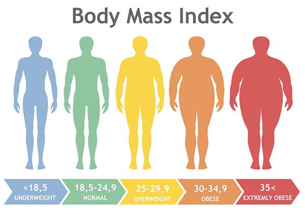 BMI giúp nhận định mức độ gầy béo