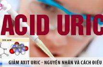 Giảm axit uric trong máu - nguyên nhân và cách điều trị