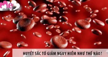 Hiện tượng huyết sắc tố trong máu giảm có nguy hiểm không 1