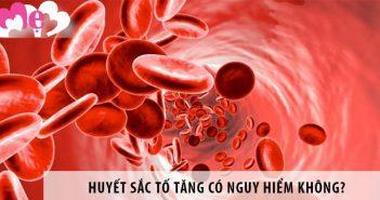 Hiện tượng huyết sắc tố tăng cao có nguy hiểm không?