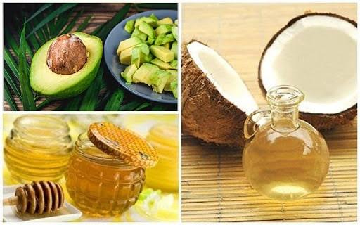 Mặt nạ dưỡng da từ dầu dừa, bơ và mật ong