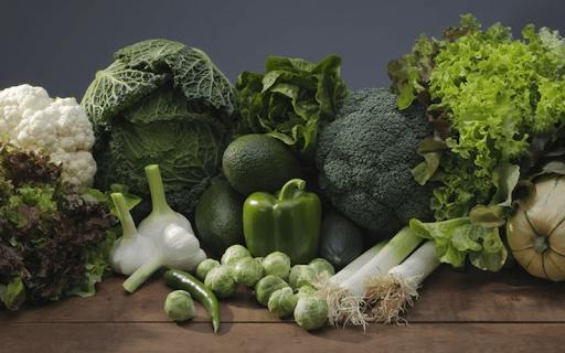 Các loại rau màu xanh đậm tốt cho mẹ bầu bị ho
