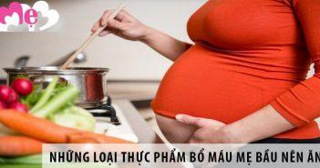 11 loại thực phẩm tốt cho bà bầu bị thiếu máu