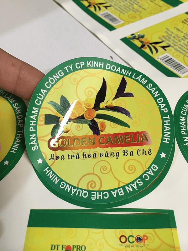 Giấy decal ứng dụng trong in nhãn mác hàng hóa