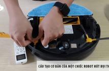 Cấu tạo cơ bản của một chiếc robot hút bụi thông minh