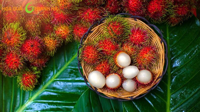 Chôm chôm là loại trái cây bà bầu nên ăn trong thời kỳ mang thai