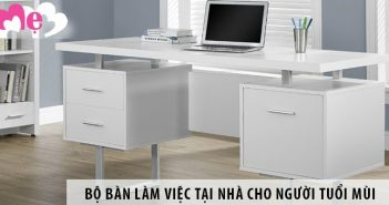 Mua bộ bàn làm việc tại nhà ở Hà Nội cho người tuổi Mùi