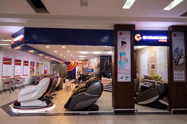 Trải nghiệm dịch vụ ghế massage tại các siêu thị và trung tâm thương mại