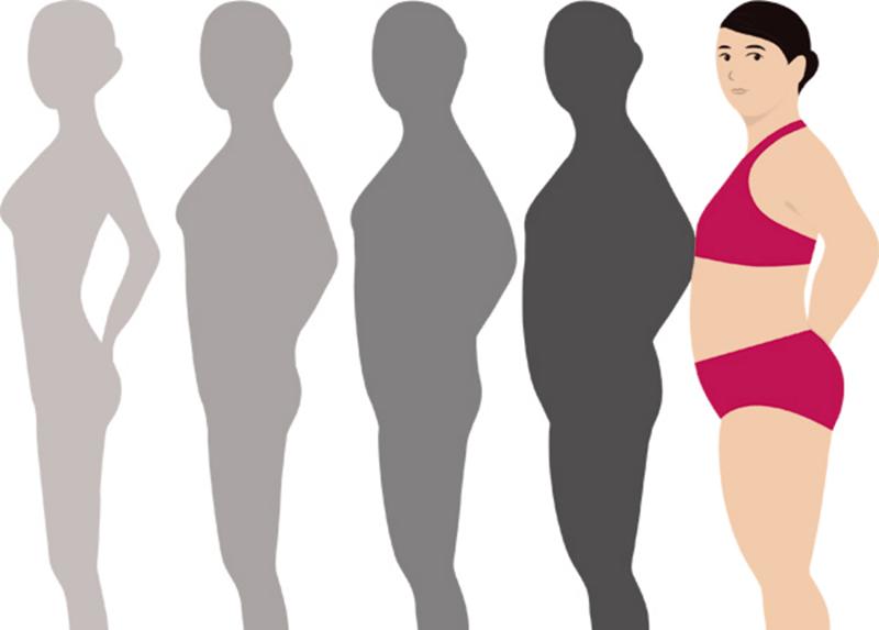 Phụ nữ tuổi mãn kinh dễ tích mỡ thừa ở bụng, eo, đùi