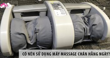 Có Nên Sử Dụng máy massage chân Hằng Ngày?