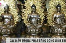 Tổng hợp các mẫu tượng Phật bằng đồng linh thiêng
